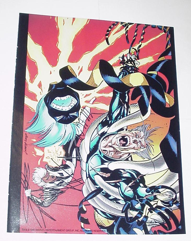 Comic book pin-ups
