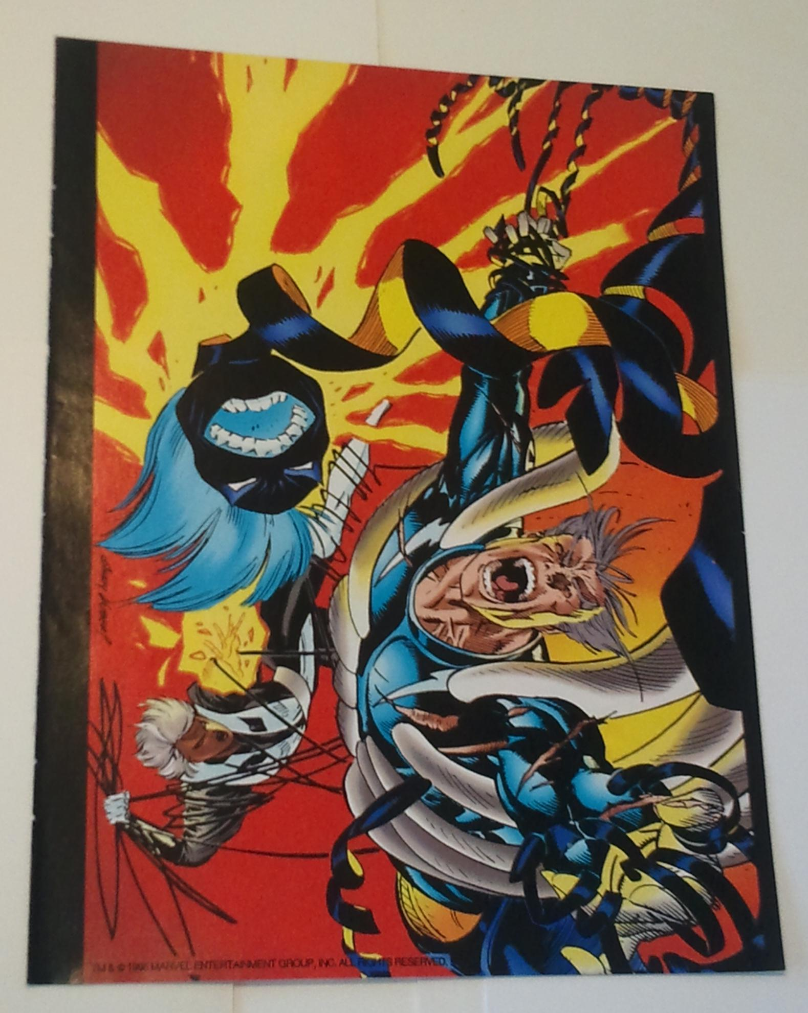Age Of Apocalypse Pinup # 1 Quicksilver Storm vs Abyss by ...