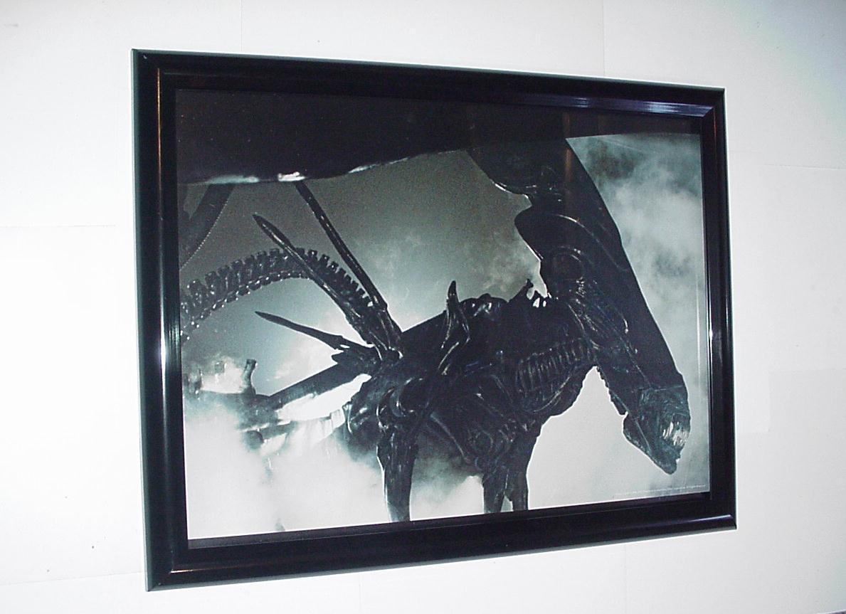 Aliens Poster # 6 FRAMED Queen Alien H.R. Giger ... H.r. Giger Queen Alien