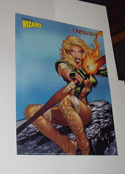 Crossgen Poster # 8 Arwyn Sojourn by Greg Land