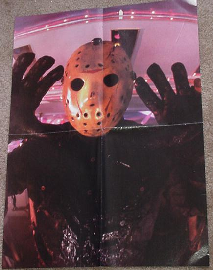 Friday the 13th Poster # 2 Jason Horror Movie