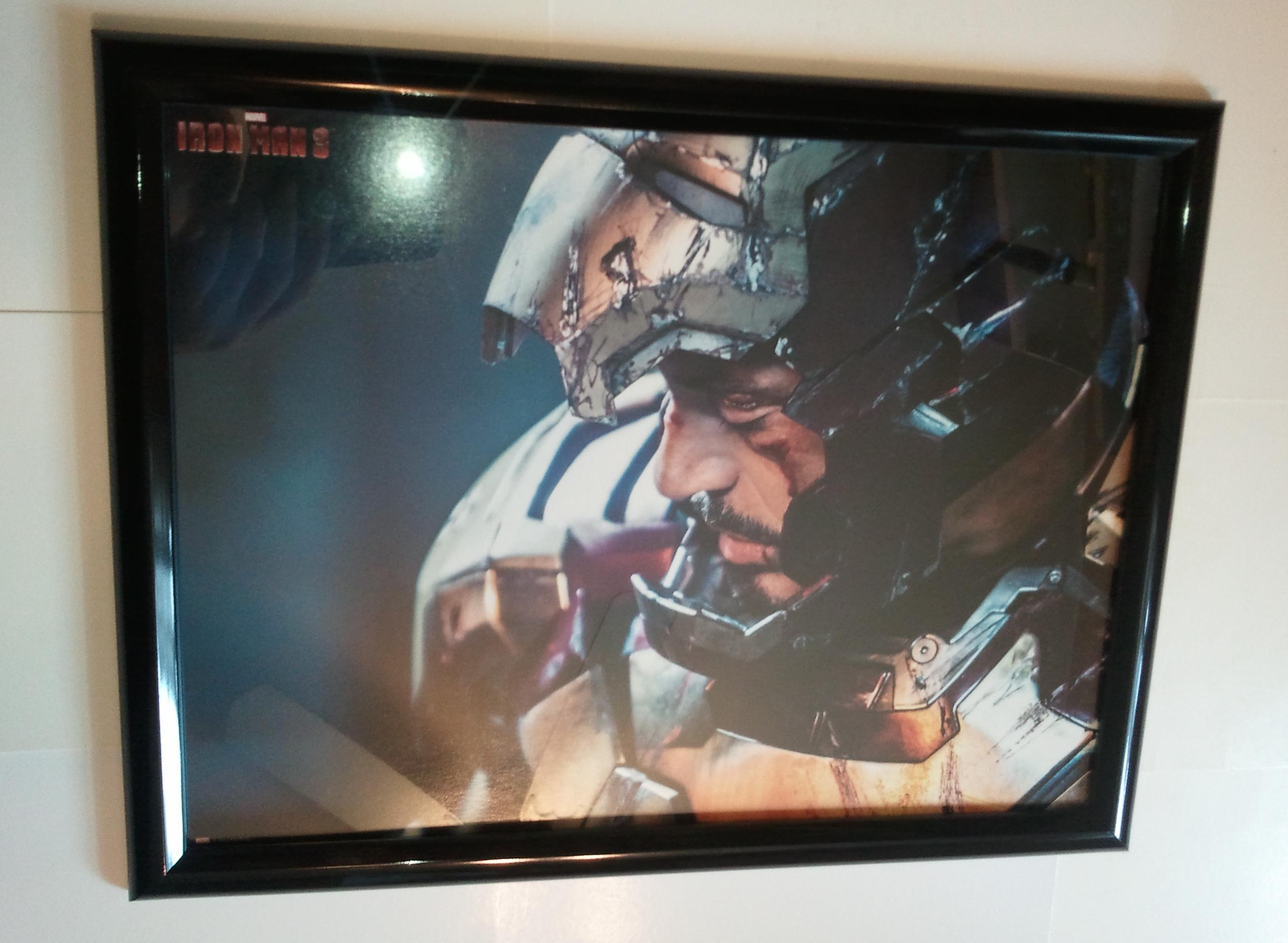Iron Man Poster #97 FRAMED 3 Robert Downey Jr
