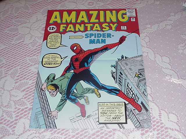Amazing Fantasy 15 Poster by Steve Ditko