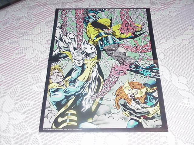 New X-men vs Krakatoa Poster Jean Grey Wolverine