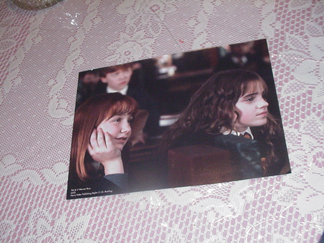 Harry Potter Poster - Hermione In Class 2