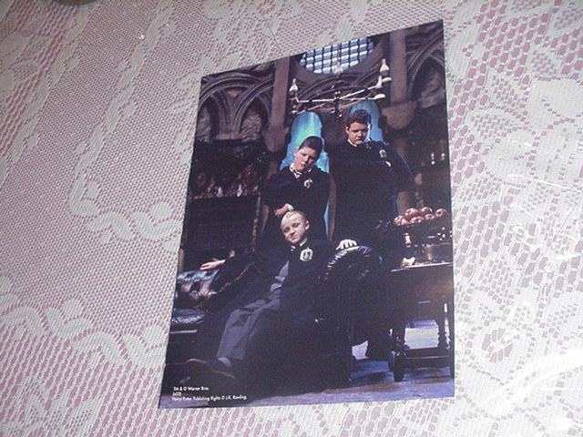 Harry Potter Poster - Draco & Slytherins 2