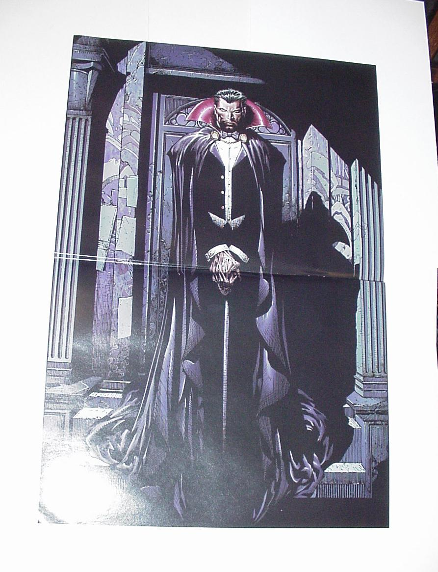 Marvel Comics Monsters Poster #13 Dracula Finch