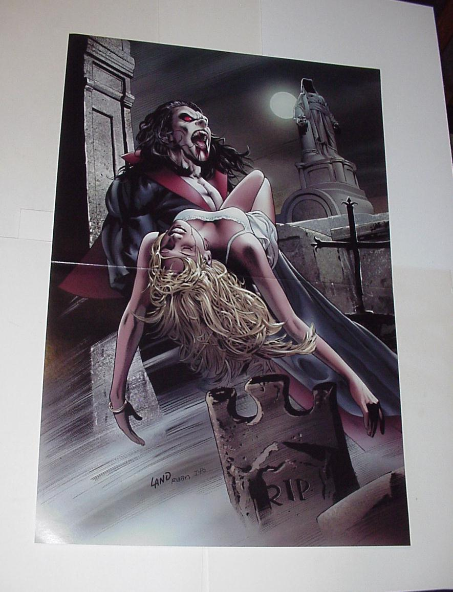 Marvel Comics Monsters Poster #18 Morbius GregLand