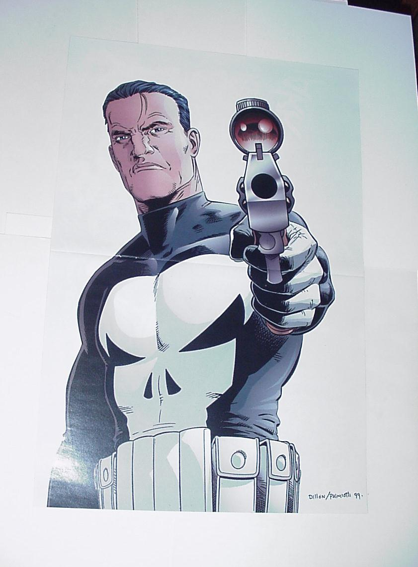 Punisher Poster #15 In His Sights by Steve Dillon
