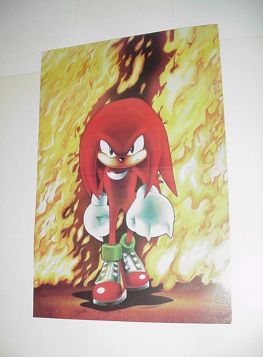 Sonic the Hedgehog Poster #12 Fury of Knuckles