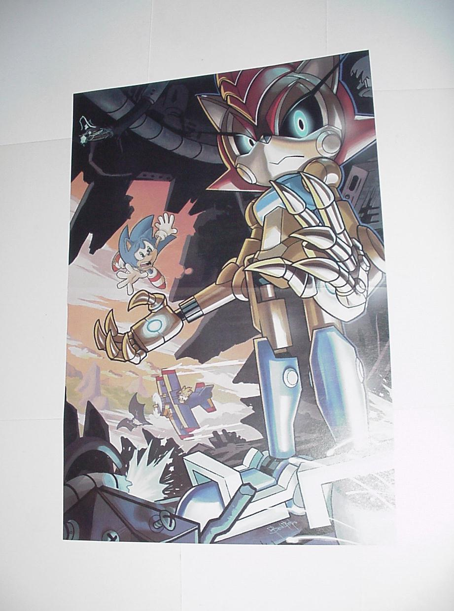 Sonic the Hedgehog Poster #17 Mecha Sally Tails