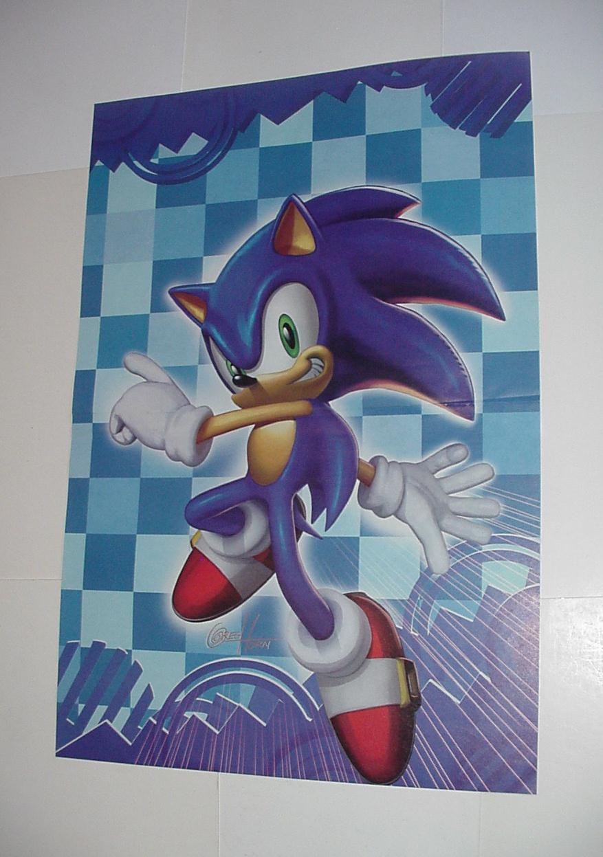 Sonic the Hedgehog Poster #18 Painting Greg Horn