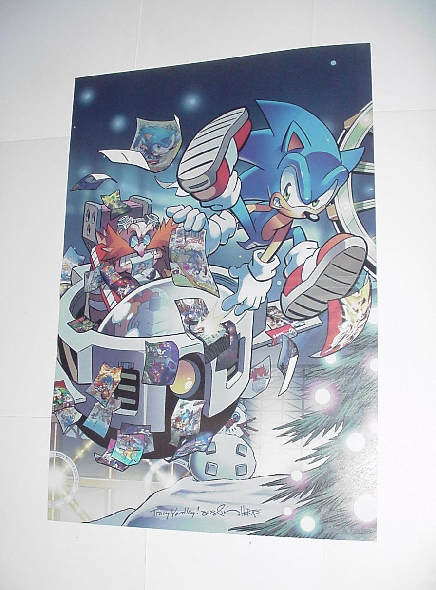 Sonic the Hedgehog Poster #20 Merry Christmas