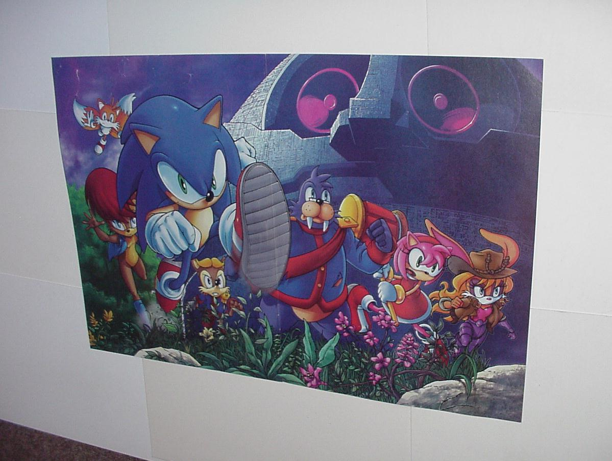 Sonic the Hedgehog Poster #22 Sally Bunnie Rotor