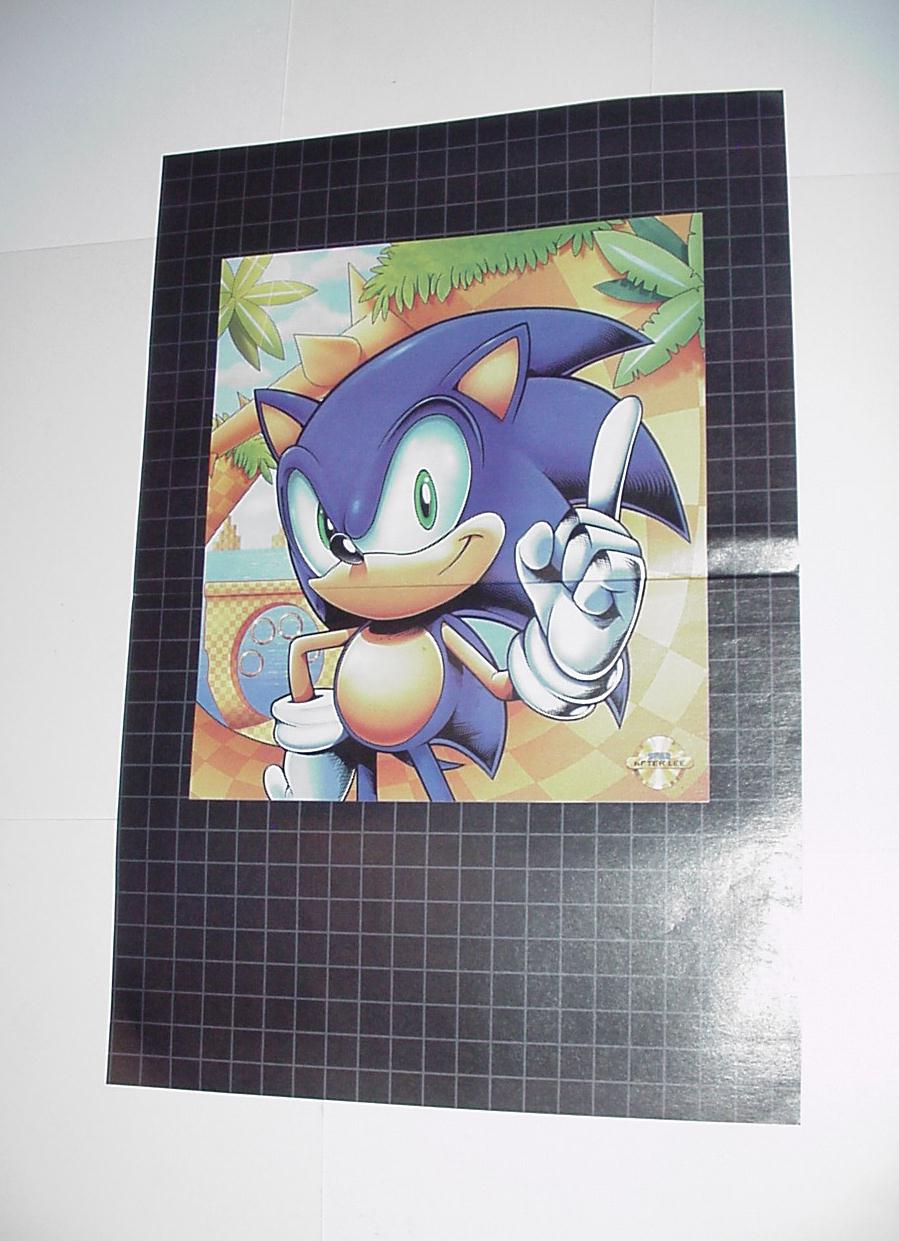 Sonic the Hedgehog Poster #23 Genesis LabyrithZone