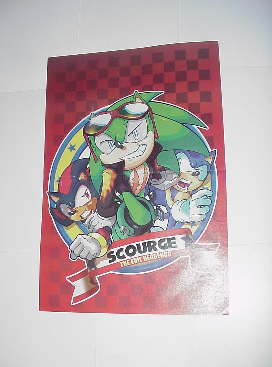 Sonic the Hedgehog Poster # 4 Scourge the Evil