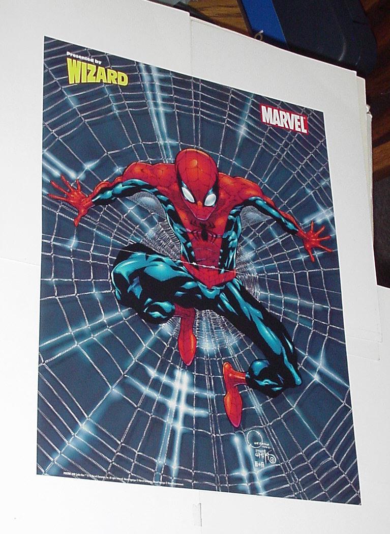 Spider Man Poster 21 Joe Quesada Tangled Web