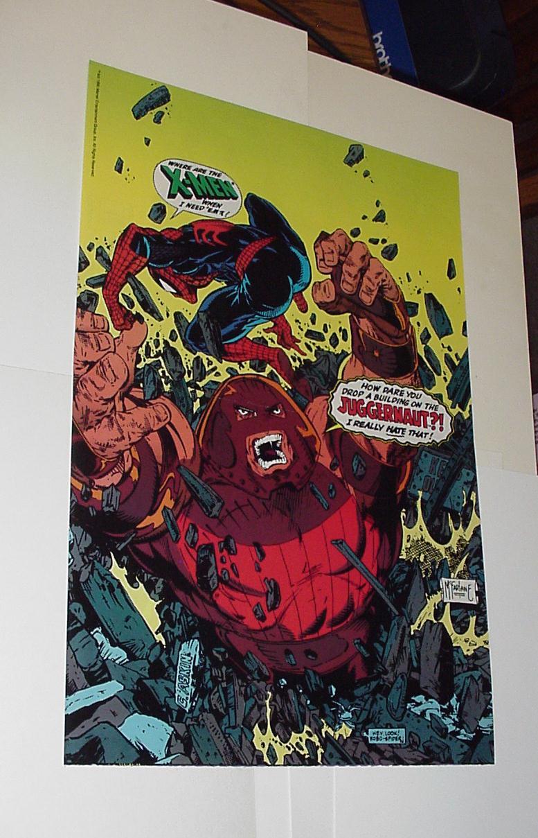 Man Poster #64 Juggernaut Todd McFarlane