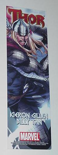 Mighty Thor / SuperHero Squad Show Promo Bookmark