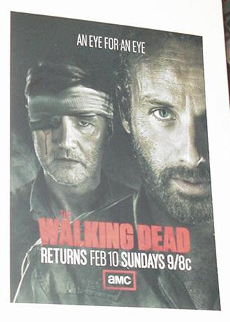 The Walking Dead TV Show AMC Rick Governor Promo
