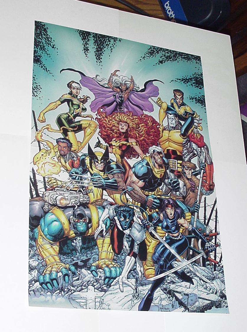 X-Men Poster #55 Arthur Adams Jean Rogue Psylocke