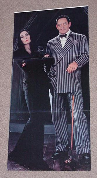 Addams Family Movie Poster Raul Julia
