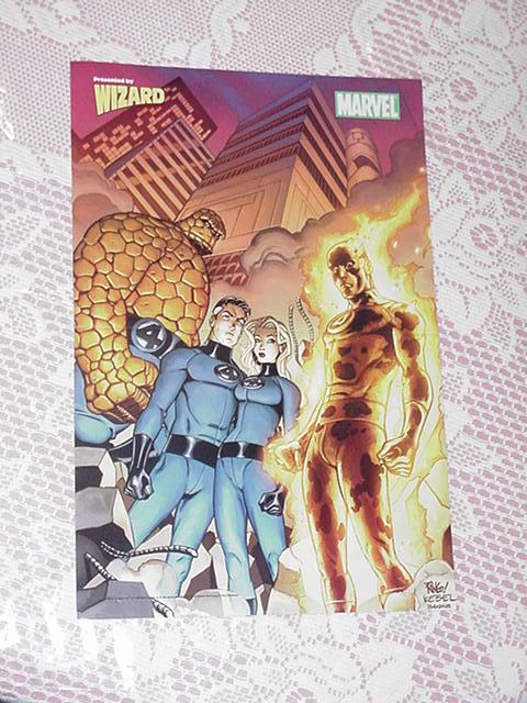 Fantastic Four Poster # 2 Mike Wieringo Movie RIP