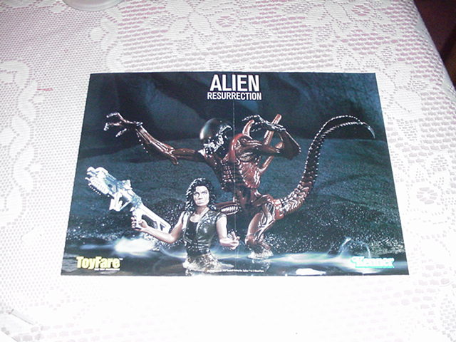 Aliens Resurrection Poster Toyfare