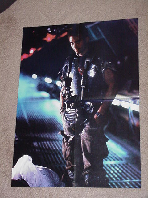 Aliens Movie Poster Hicks! James Cameron Predator