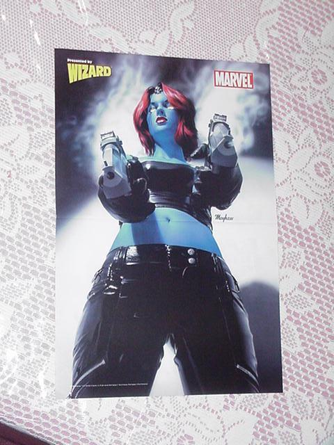 Mystique Last Thing You See Poster Mike Mayhew