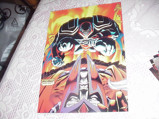 Age Of Apocalypse Poster Andy Kubert Magneto Vs
