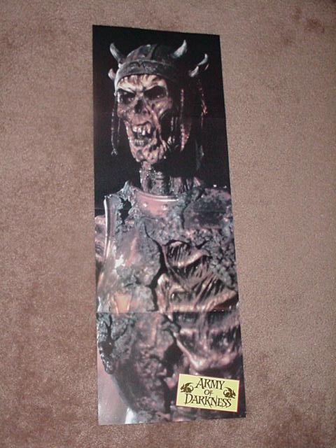 Army of Darkness Skeleton Poster Evil Dead