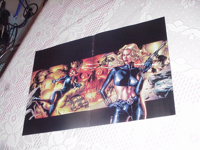 Black Widow BOTH by J G Jones Marvel Knights