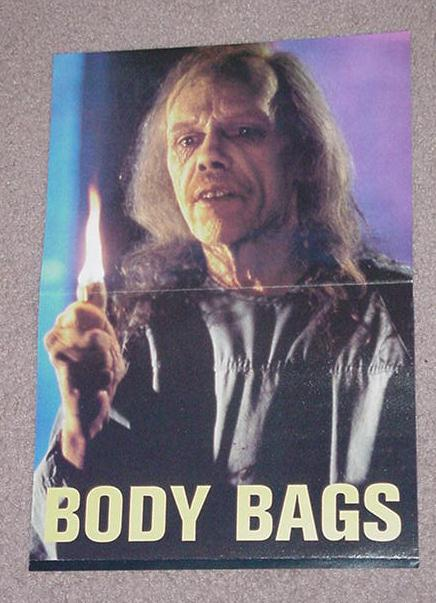 Body Bags Horror Movie Poster