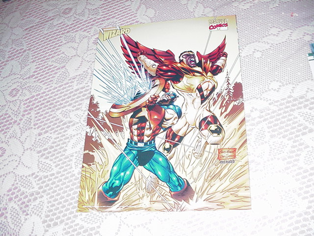 Captain America + Falcon Poster Andy Kubert