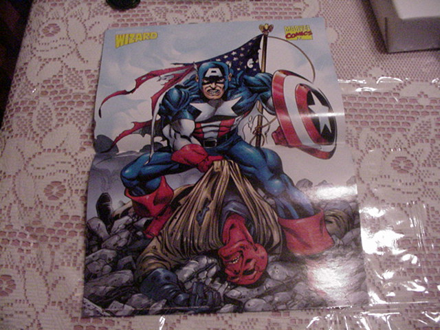 Captain America by George Perez Red Skull