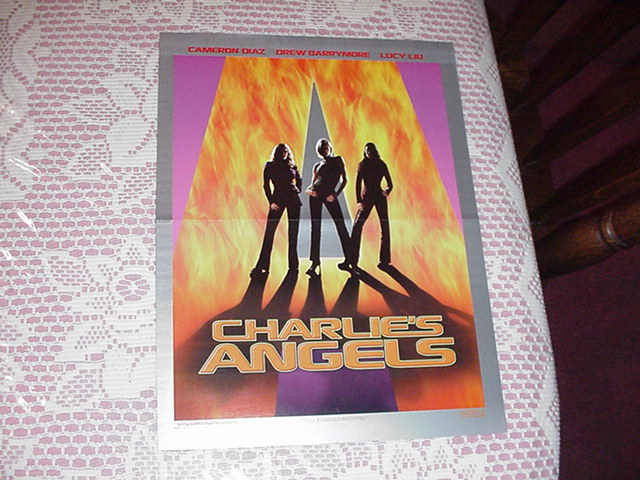 Charlies Angels Poster Drew Barrymore Lucy Lu