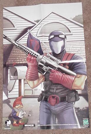Cobra Viper Poster G.I. Joe Tim Seeley