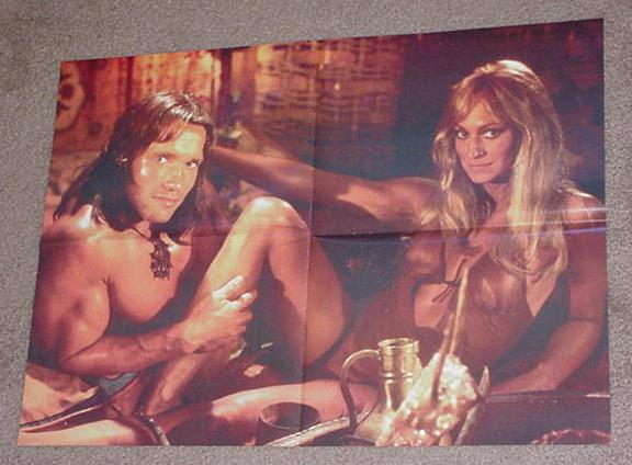 Conan Barbarian Movie Poster Sandahl Bergman