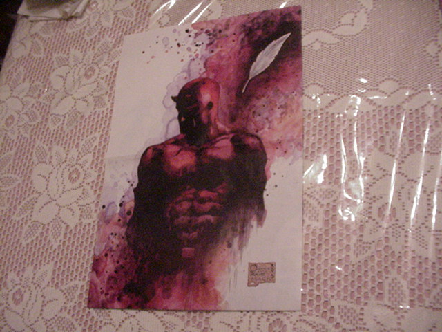 Daredevil Poster by David Mack Quesada L