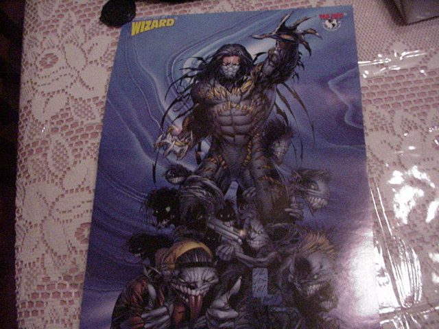 Darkness Poster by Marc Silvestri