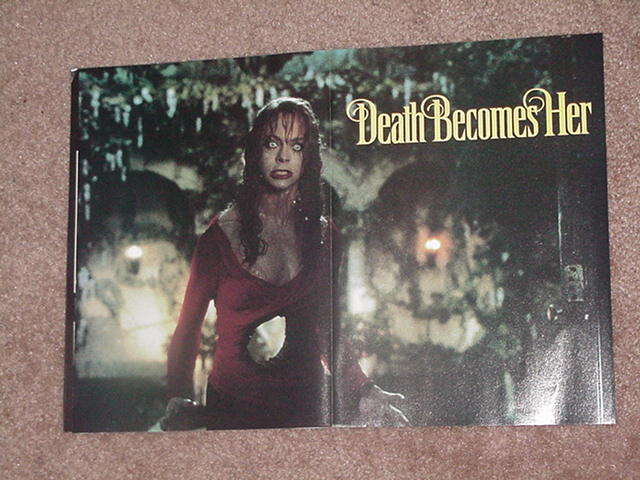 Death Becomes Her Movie Poster Meg Ryan