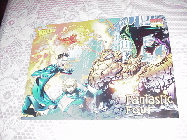 Fantastic Four v Super Skrull Poster Chris Bachalo