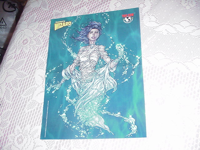 Fathom Swimming Poster Michael Turner Super-Girl