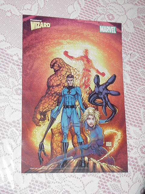 Fantastic Four Poster Michael Turner Fathom