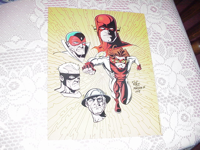 Flash Impulse Poster by Ringo DC Comics