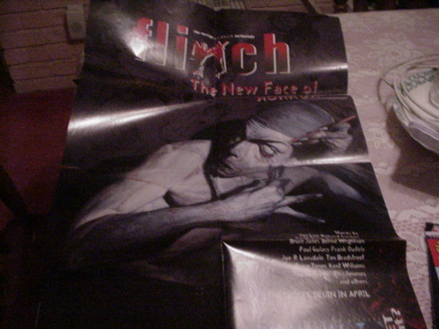 Flinch Poster Vertigo Comics