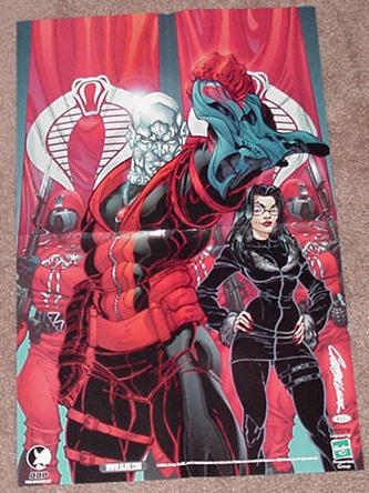 Forces of Destro Poster J Scott Campbell G.I. Joe
