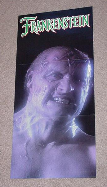 Frankenstein Horror Movie Poster Randy Quaid