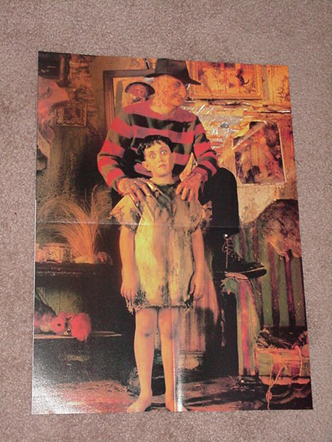 A Nightmare on Elm Street Poster # 4 Freddie +Kid